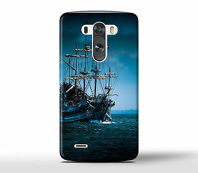 Pirate Ship In The Ocean Sea - Hard Phone Case Cover Fits LG G Models