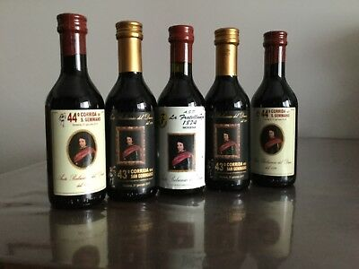 LOTTO STOCK ACETO BALSAMICO DI MODENA 5 bottigliette da 250 ml.