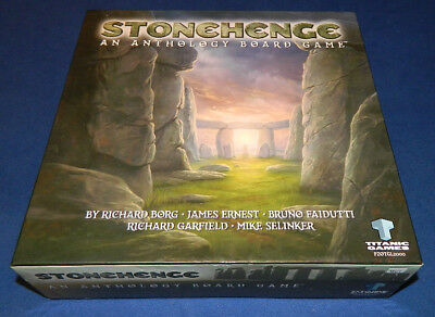 Stonehenge an anthology board game - 5 games in one- 2007 Titanic/Paizo complete