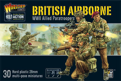 Bolt Action British Airborne *WWII Allied Paratroopers* Warlord Games