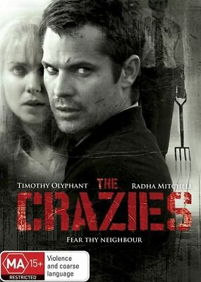 The Crazies (DVD, 2013) R4 BRAND NEW SEALED - FREE POST!