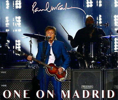 Paul McCartney - MADRID 2016 LIVE 2CD + Bonus DVDR + Bonus CDR - Limited Edition