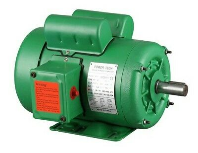 "1HP NEMA Farm Duty 1725RPM 143T Single Phase Electric Motor TEFC, 7/8"" Shaft."
