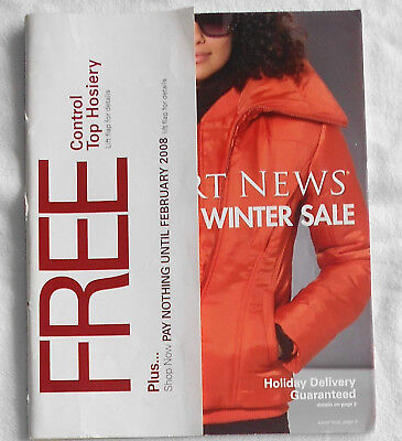NEWPORT NEWS Catalog/ The Ultimate Winter Sale/ 2007/ Cover 2/ Clean Back Cover