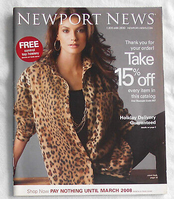 NEWPORT NEWS Catalog/ The Ultimate Winter Sale/ 2007/ Cover 1/ Clean Back Cover