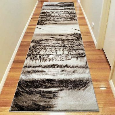 Hallway Rug Hall Runner Modern Contemporary Mat Floor Carpet Beige 3629