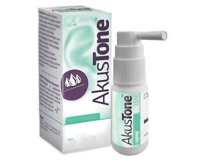 AKUSTONE 15ml Earwax Blockage Removal Wax Softening Spray For Ear Do Uszu