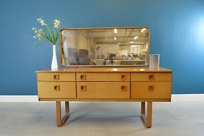 Vintage Retro Mid Century Danish Style Dressing Table By Schreiber - 3885