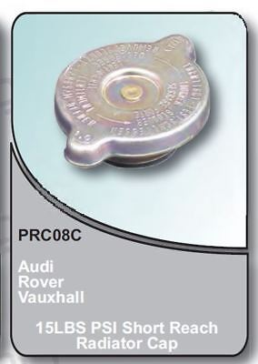 15Lb PSI Short Reach Rad Cap for Audi Rover Vauxhall