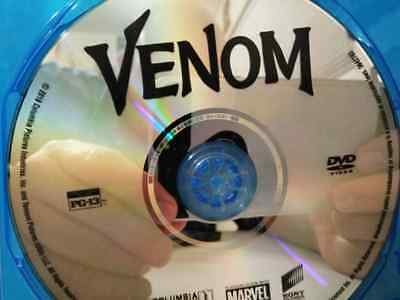 NEW UNSEALED Venom DVD (2018) TOM HARDY NEW DVD IN BLU RAY CASE PLUS SLIP COVER!