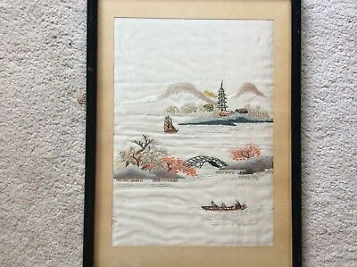 Picture Silk Hand Embroidered