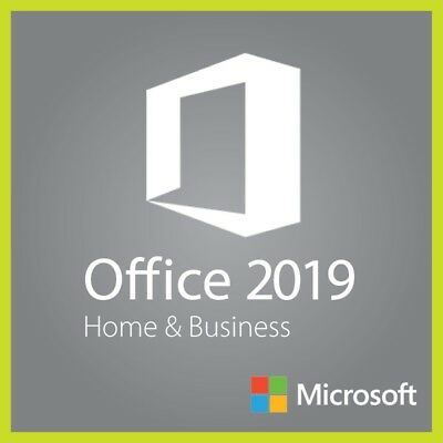 Microsoft Office 2019 Home & Business 1 MAC Apple Original Key Multilingual ESD