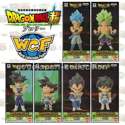 Pre DRAGONBALL SUPER WCF World Collectable Figure MOVIE BROLY vol.3 FULL SET