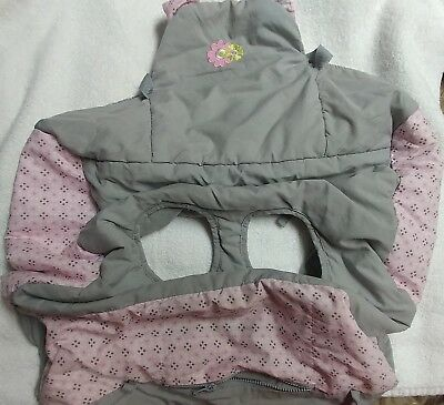 Grocery Cart Cover Baby Shopping Cushy Seat Toddler Gray/Pink flower