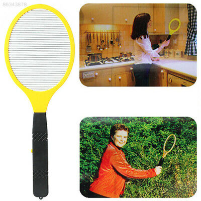 DA4D Electric LED Anti Mosquito Fly Swatter Zapper Killers Tool Racket Home*