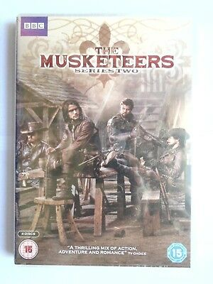 The Musketeers - Season Series 2 - DVD  NEW & SEALED  T5