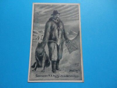 U.s.a. Arctic. Polar Explorer. Peary Arctic Discovery.tuck's Post Card.