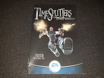 TimeSplitters: Future Perfect, Sony Playstation 2 Game Manual, Trusted Ebay Shop