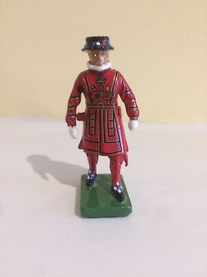 "1990 Metal Beefeater Figurine 2 3/8"" High"