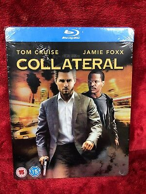 Collateral UK Blu ray Steelbook Brand New Sealed