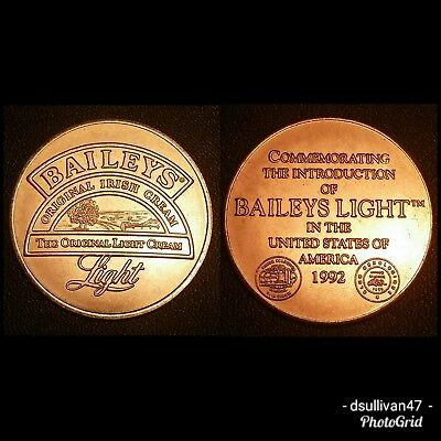 Baileys Original Irish Cream Light 1992 Medal