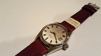 Orologio Lanco 25 Rubis Automatic Incabloc Day-Date Watch Ref.36027 A Cal.as1885