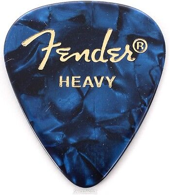 Fender 351 Shape Premium Celluloid Picks - Heavy B