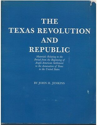 The Texas Revolution and Republic - Jenkins Company catalogue 188
