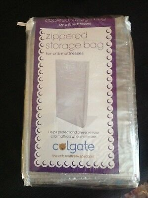 Colgate Zippered Crib Mattress Storage Bag by Colgate Clear