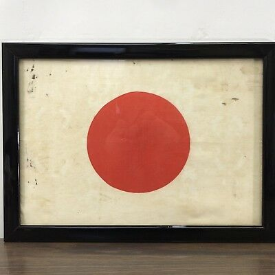 Authentic WW2 Ace Pilot's Japanese Flag/Banner w/ Provenance (Letter w/ Story)