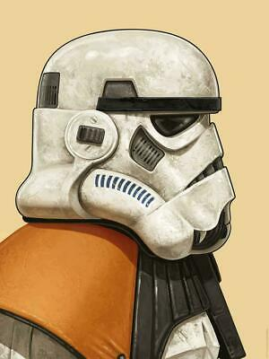 Sandtrooper - by Mike Mitchell Mondo Star Wars Poster Print XX/1025