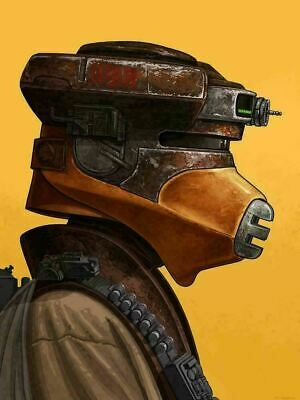 Princess Leia (Boushh) - by Mike Mitchell Mondo Poster Print XX/750