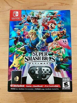 Super Smash Bros. Ultimate Special Edition Switch BRAND NEW SEALED FREE SHIPPING