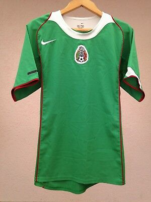 0edd91f874 Mexico National Team 2004 2005 Home Football Soccer Shirt Jersey Camiseta  Nike