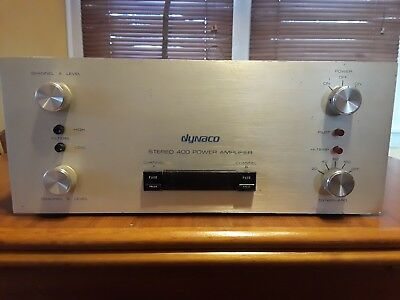 Dynaco Stereo 400 Power Amp Good And Working Condition
