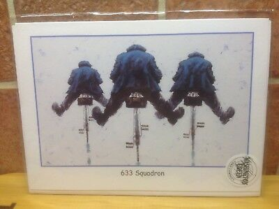 """""""633 SQUADRON"""" by Alexander Millar Washington Green Art Card NEW Out Of Print"""