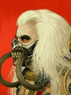 Immortan Joe - by Mike Mitchell Mad Max Mondo Poster Print XX/770