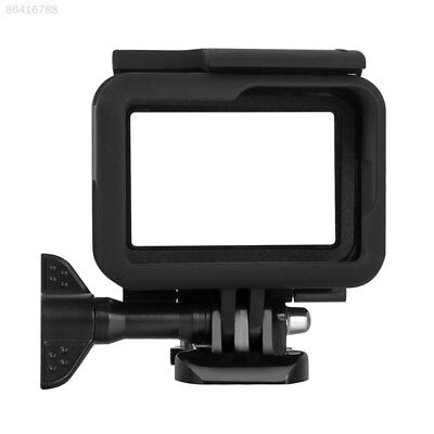 0578 Anti-Dirty Protective Frame Housing Case Cover + Lens Cap For Gopro Hero 7