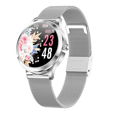 Smartwatch donna KW10 waterproof IP68 bluetooth notifiche per Android e iOS
