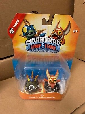 Bop Skylanders Trap Team Mini Sidekick Universal Character Figure
