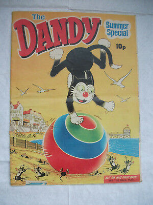 The DANDY comic - Summer Special 1971 Good/ VGC  with cut out masks