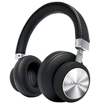 Linner NC90 Hybride Anc Piles Couvrant Casque 34 Heures Playback pour Ios &