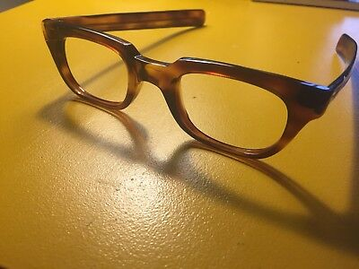 76e1327618 ... Mens Eyeglasses - Black Plastic 1950 s Eye Glasses - Halo Nerdy Frames.   54.99 Buy It Now 5d 20h. See Details. Vintage Eyeglasses Tortoise Beekman  Tart