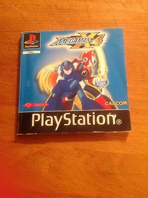 Ps1 Manual Only Megaman X4