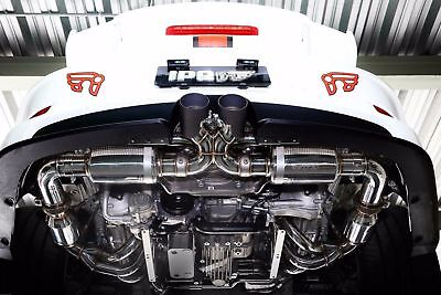 PORSCHE 991 / 991.2 911 GT3 / RS Stainless Series iPE Exhaust FULL System