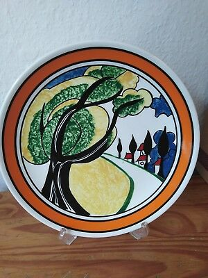 Wedgwood Clarice Cliff May Avenue Limited Edition collectors boxed Plate