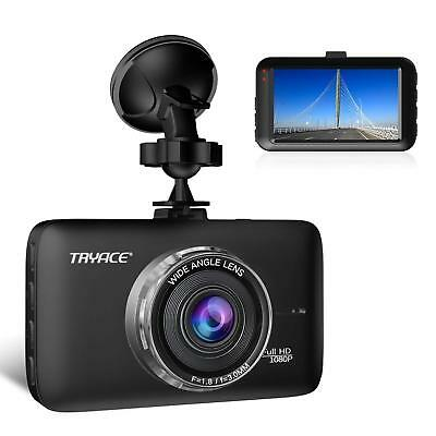 "TryAce Dash Cam FHD 1080P Car DVR Dashboard Camera with 3"" LCD Screen Parking"