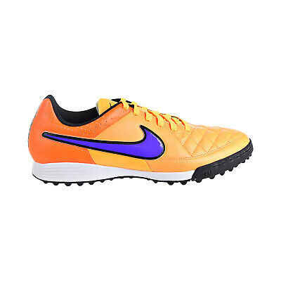 3dcdfefa6 Nike Tiempo Genio Leather TF Men's Soccer Cleats Shoes Lazer Orange  631284-858