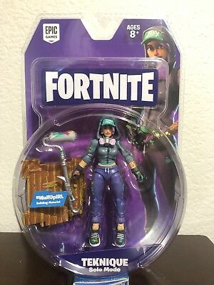 """Fortnite Teknique Solo Mode Core Action 4"""" Figure Toy Collectible Jazwares 2018"""