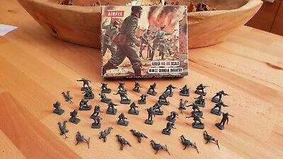 Airfix 01705-1, WWII German Infantry, 41 Teile, mit OVP, 1973, H0/00 Scale